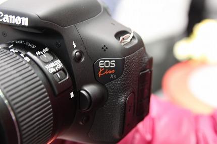 EOS Kiss X5ロゴ