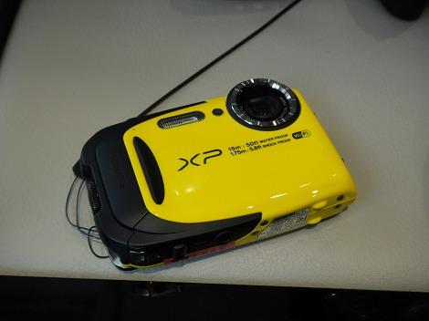 富士フィルム FINEPIX XP70レビュー