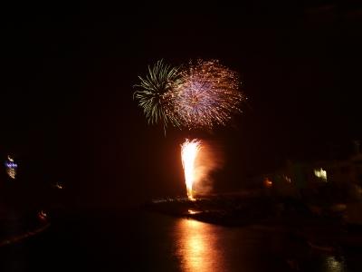 オリンパスE420で花火を撮影